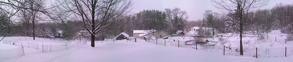 Glacial Ridge Farm Panorama